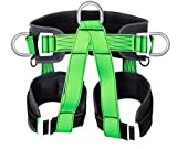OXY DENIM Climbing Harness Outdoor Rock Climbing Mountaineering Rappelling Safety Belt Harness Wall