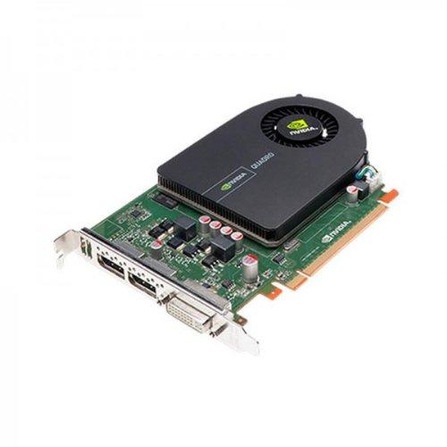 Nvidia Quadro 2000 Professionelle Grafikkarte für CAD- und DCC-Anwendungen (1GB GDDR5 RAM, 128-Bit 41,6 GB/s Bandbreite, 192 CUDA-Kerne, PCI-E PCI Express 2.0 x16, Dual Link DVI-I und 2xDisplayPort, Dell Produktnummern: 2PNXF , 8MDMW, GGMPW