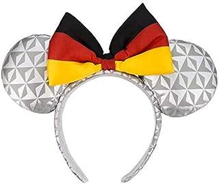 Disney Parks - Minnie Ears Headband - Epcot Germany Flag