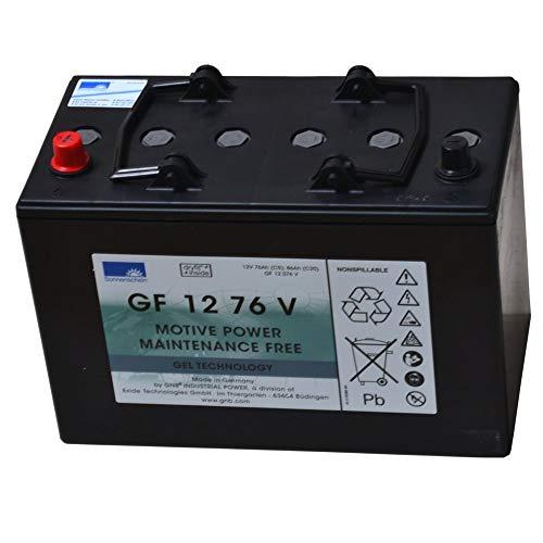 EXIDE Sonnenschein Batterie 12 Volt 76 AHDryfit Traction Block GF 12 076 V