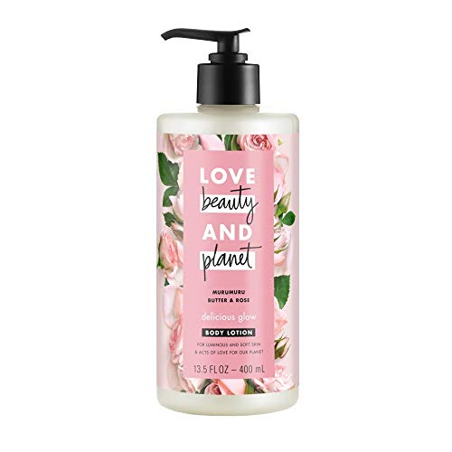Love Beauty And Planet Body Lotion Delicious Glow 13.5 Fl OZ