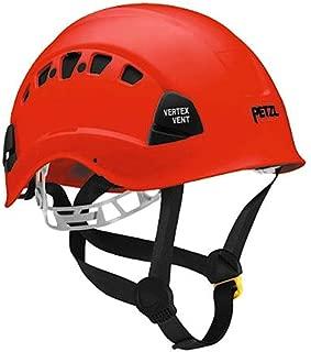 Petzl Vertex Vent ANSI Z89.1 Class C OSHA Red Helmet Climbing Rope Access Construction