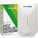 Ultrasonic Pest Repeller - Easy & Humane Way to Reject Rodents Ants Cockroaches Beds Bugs Mosquitos Fly Spiders Rats & Buts - Eco-Friendly & Safe for Human & Home Pets
