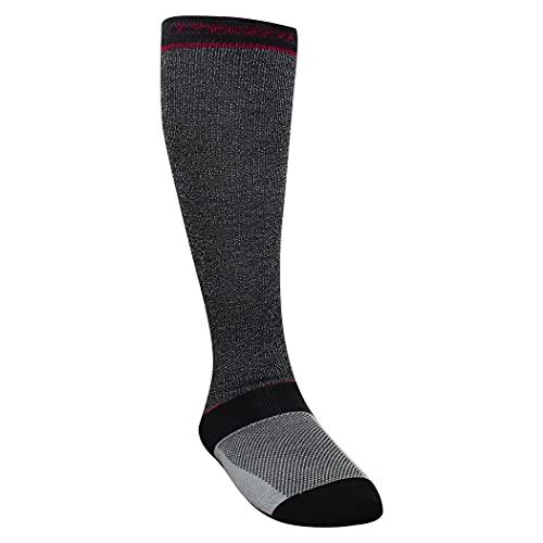 TronX Cut-Resistant Performance Hockey Socks, Moisture Wicking, Full Level 4 Protection (one_size)