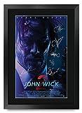 HWC Trading FR A3 John Wick 2 Keanu Reeves Gifts gedrucktes