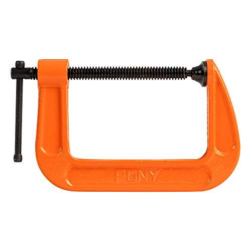 Pony Jorgensen - POJ2640 2640 4-Inch C-Clamp, Orange