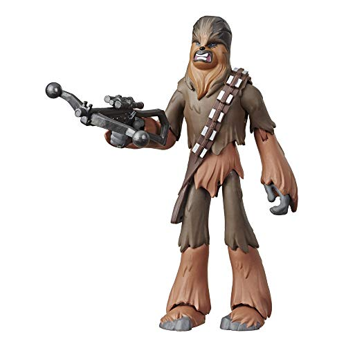 Star Wars Galaxy of Adventures Aufstieg Skywalkers Chewbacca 12,5 cm große Action-Figur mit toller Action Attacke
