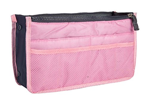 multifonction pochette de Voyage Portable Wash Bag Cosmetic Bag, rose