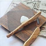 Hilloly Cuchillo de Mantequilla de Madera de Olivo, 2 Pcs Cuchillo de Mantequilla de Madera de olivo, Cuchillo Para Queso de Madera de Olivo Cuchillo Para Mantequilla(17 x 1,5cm)