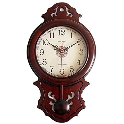HCYY Reloj de Pared de la Vendimia, Sala de Estar con Reloj...