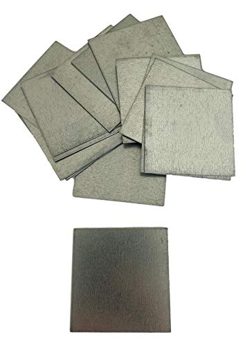 20 placchette in metallo 45 x 45 mm   Quadrati in acciaio zincato 0,5 mm   Sottopentola costruzioni & artigiani.