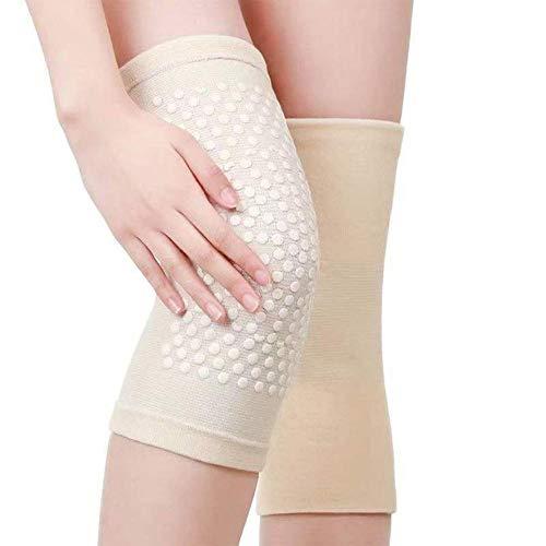 CNMZ - Rodilleras autocalentables para artritis, alivio del dolor en las articulaciones y recuperación de lesiones., Piel, X-Large