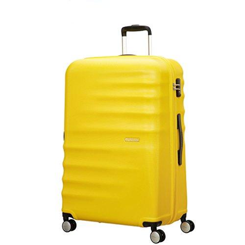 Trolley American Tourister Wavebreaker 4 Ruote colore Sunny yellow Misura 77 cm