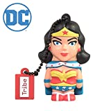 Clé USB 16 Go Wonder Woman - Mémoire Flash Drive 2.0 Originale DC Comics, Tribe FD031503