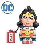 Clé USB 8 Go Wonder Woman - Mémoire Flash Drive 2.0 Originale DC Comics, Tribe FD031403