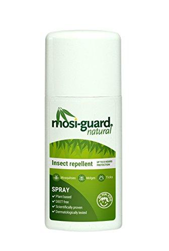 Mosi gurad Natural Spray against mosquitoes, flies, ticks, volume: 75 ml by Mosi-guard Natural Spray