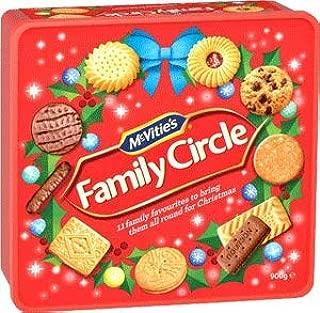 McVities Family Circle Christmas Tub (900g)