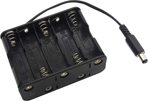 オーディオファン 単三乾電池 10本用 バッテリー ケース DC 15V・12V出力 電池ボックス 1個