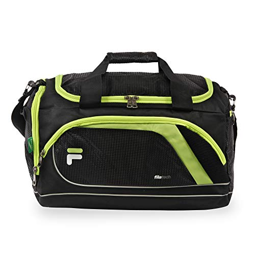 Fila Advantage 19' Sport Duffel Bag, Black/Lime