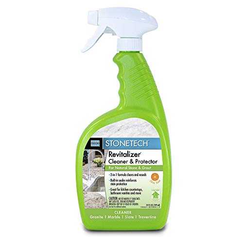 StoneTech Revitalizer Cleaner and Protector for Natural Stone Countertops and Surfaces, 24-Ounce Spray, Citrus Scent