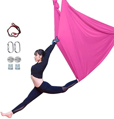 Lowest Prices! YAOSHUYANG Aerial Yoga Hammock, Aerial Yoga Swing Set, Ultra Strong Antigravity Yoga ...