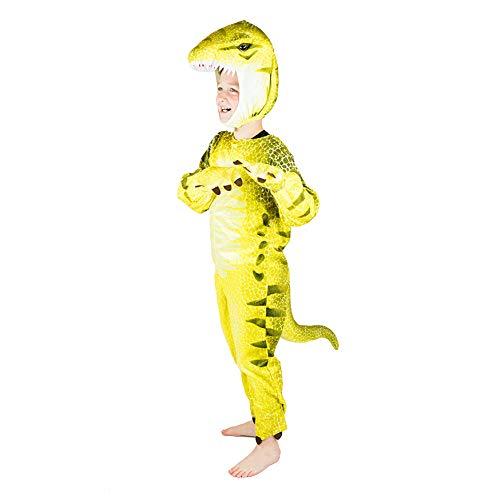 Bodysocks® Disfraz de Dinosaurio Chico (5-6 años)