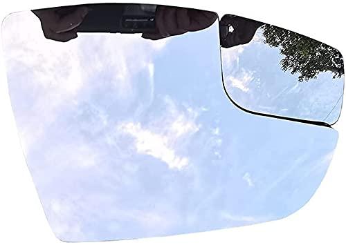 DENGZ Cristal De Espejo Retrovisor, Reemplazo para Ford Focus 2012-2018, Retrovisor Lateral Calefactado, Antiniebla, Izquierda/Derecha