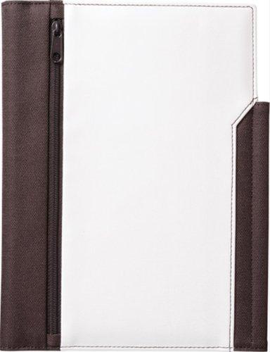キングジム レザフェスノートカバー A5S 白 1991LFシロ