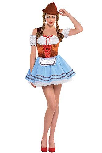 Disfraz de Tirolesa Oktoberfest para mujeres en varias tallas