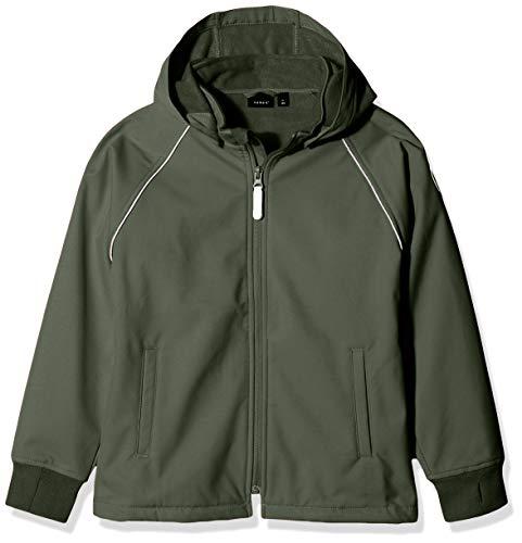 NAME IT Jungen Jacke NMMMALTA Jacket, Grün (Thyme), (Herstellergröße: 92)