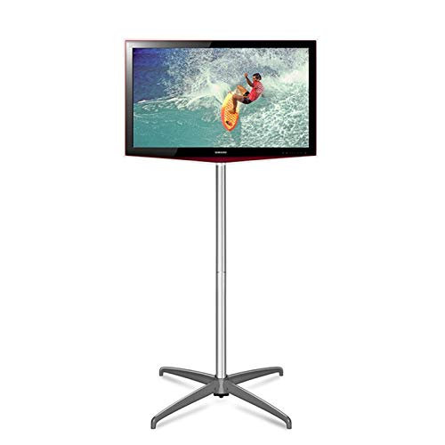 Kaidanwang Soporte de Suelo para TV para Sala de Estar Soporte de TV de pie, suspensión Ajustable, Soporte de TV móvil, LCD, Monitor de TV, Soporte, Altura, Altura, Solo, Soporte (Size : A)