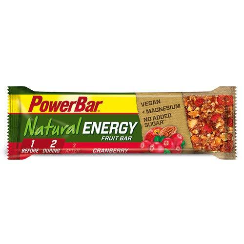PowerBar Natural Energy Fruit-Nut 12 x 40g Riegel Apple Strudel
