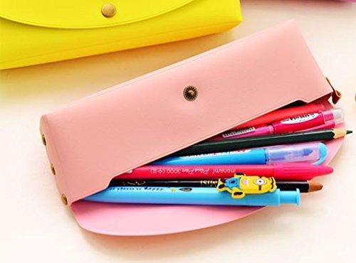 Airblasters Pink Cute Pony Creative Minimalist Leather Pencil Case School Pencil Case
