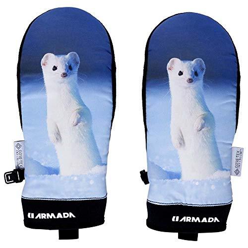 ARMADA Damen Carmel Windstopper Handschuhe, Snow Weasel, XS