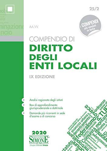 Compendio di diritto degli enti locali