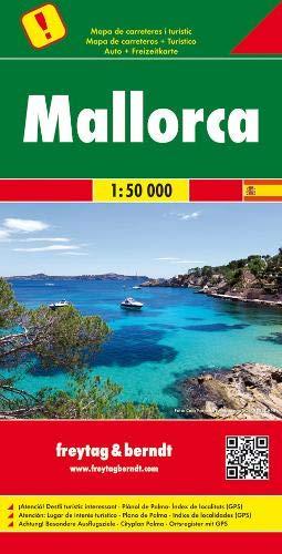 Mallorca, Autokarte 1:50.000, besondere Ausflugsziele: Wegenkaart 1:50 000 (freytag & berndt Auto + Freizeitkarten)