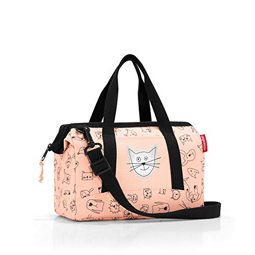 Reisenthel Allrounder XS Kids Cats and Dogs Sac de Sport Enfant, 27 cm, 5 liters, Rose