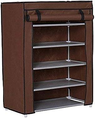 BUCKETLIST® 5 Tiers Multi-Purpose Books/Paper/File/Shoe/Toys/Showpiece/Bookcase Book Rack Storage Organiser Storage Organizer