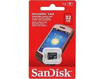 SanDisk 32GB Class 4 Micro SDHC Memory Card work with Roku Ultra, Roku 4, Roku 3, Roku 2 Streaming Player with Everything but Stromboli (TM) Card Reader (SDSDQM-032G-B35)