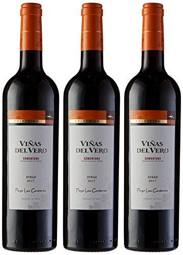 Viñas Del Vero Syrah Colección - Vino D.O. Somontano - 3 Botellas x 750 ml - Total: 2250 ml