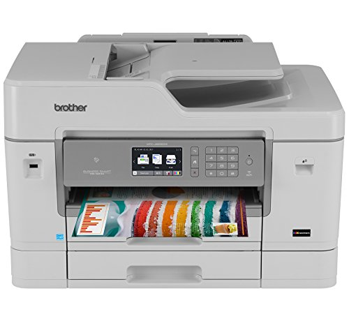 Brother Mfc-J6935Dw Inkjet All-In-One Color Printer, Wireless Connectivity, Automatic Duplex Printing, Amazon Dash Replenishment Ready
