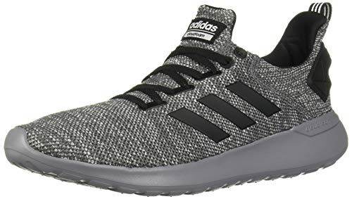 adidas mens Lite Racer Byd Running Shoe, Grey Five/Black/Grey Metallic, 10.5 US
