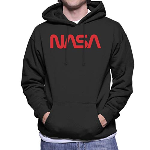 Nasa The Logo 1975-1992 Men's Hooded Sweatshirt