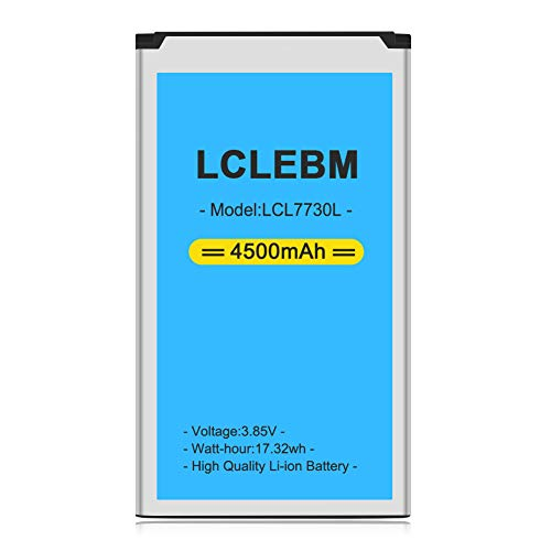 Mifi 7730l Battery [Upgraded] LCLEBM 4500mAh 7730l Jetpack Battery for Novatel Jetpack MiFi 7730L Mobile Hotspot P/N: 40123117 [24 Month Warranty]