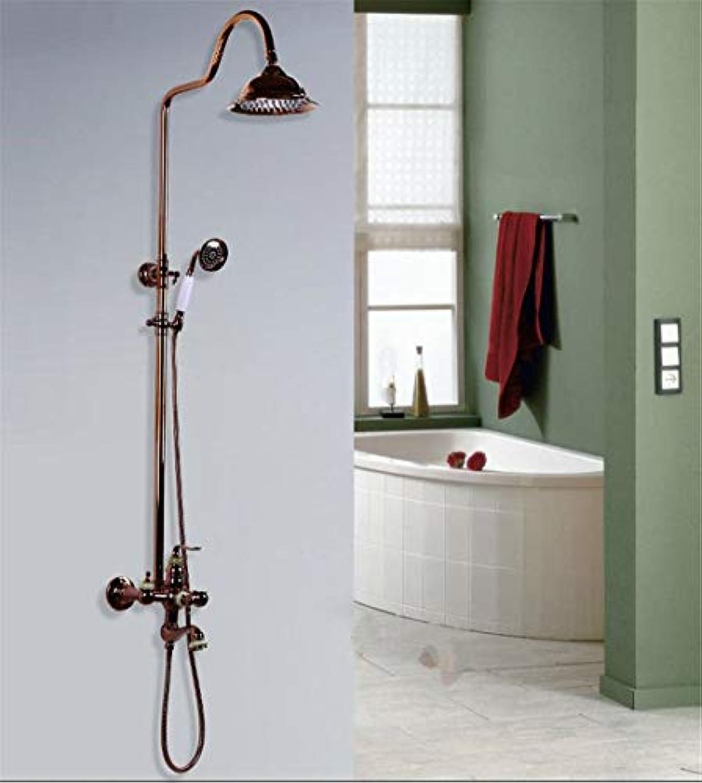 WMING Home Waschbecken-Mischbatterie Badezimmer-Küche-Becken-Hahn auslaufsicher Wasser sparen heie und kalte Küche Plus hoch