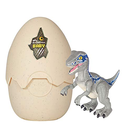 URFEDA Juguete de dinosaurio de huevo Efecto de luces música LED y sonido Dinosaurio bebés Juguete baño lampara noche niños Infantiles de Agua mágica Juguete para Regalo para niños y niñas