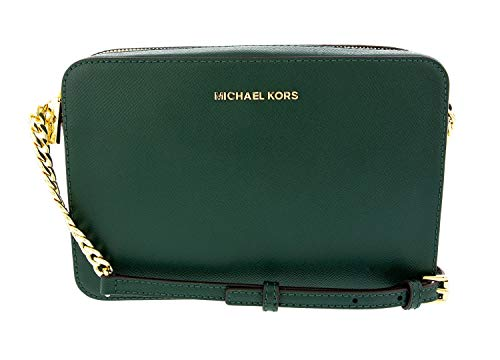 Michael Kors Crossbodies 32S4GTVC3L Damen Handtasche Umhängetasche Schultertasche Abendtasche (Racing Green)