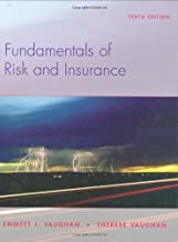 By Emmett J. Vaughan - Fundamentals of Risk and Insurance (10th Edition) (2008-01-05) [Hardcover]