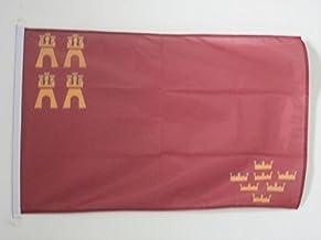 BANDERA de la REGIÓN DE MURCIA 45x30cm BANDERINA MURCIANA 30 x 45 cm cordeles