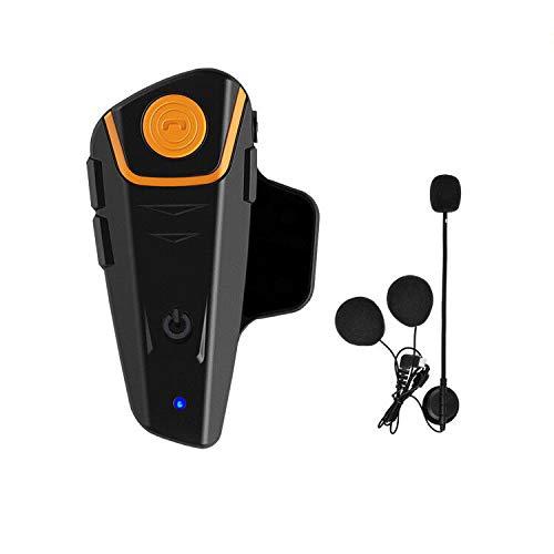 Auriculares Bluetooth para Motocicleta, BT-s2,1000 m, con Sistema de comunicación Bluetooth, para Casco de esquí, intercomunicador Bluetooth, walkie-Talkie para Moto de Nieve, hasta 3 Conductores